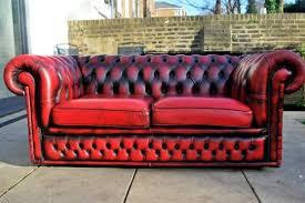 canapé cuir anglais chesterfield authentique canape chesterfield anglais à toulouse meubles