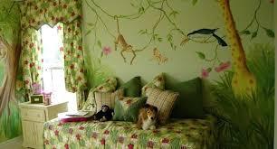 theme wall jungle living room ideas ironweb club