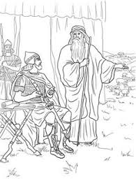 mephibosheth coloring pages david helps mephibosheth coloring