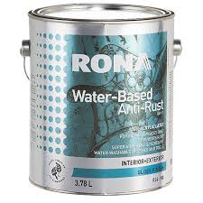 water based anti rust paint rona