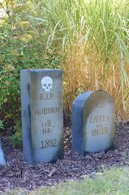 tombstones for how to make cardboard tombstones