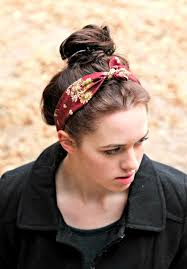 tie headbands vintage look tie headband tie in women s fashion