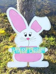 easter rabbits decorations my easter yard decorations www muralsfauxnmore murals