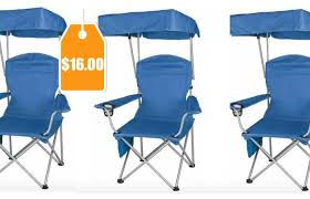 ozark trail quad folding canopy shade camp chair 16 reg 26 97