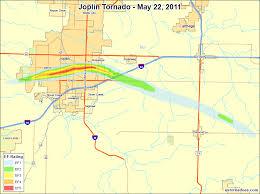 joplin mo map the may 22 2011 joplin missouri ef5 tornado u s tornadoes