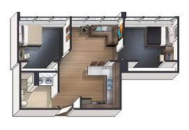 2 bedroom floor plan 1 2 3 bedroom cus housing in dekalb il