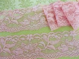 wide lace ribbon embellishment world lace trims elastic flat lace 8