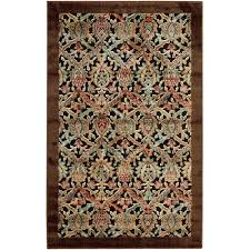 Damask Area Rugs with Nourison Graphic Illusions Bold Textured Damask Area Rug Walmart Com