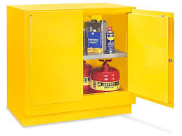 Yellow Flammable Storage Cabinet Undercounter Flammable Storage Cabinet Manual Doors Yellow 22