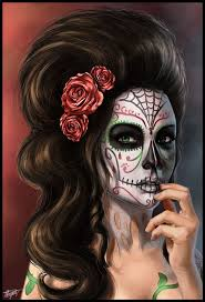 Day Of The Dead Halloween Makeup Ideas 118 Best Day Of The Dead Images On Pinterest Sugar Skulls Candy