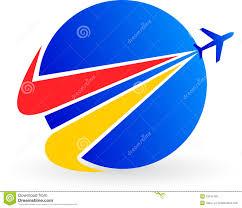 plane logo royalty free stock photo image 19191155