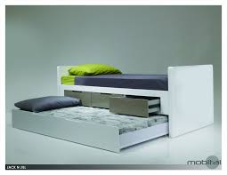 Bedroom Furniture Modern Melbourne Trundle Bed Modern White Double Trundle Bed Modern Melbourne B2c