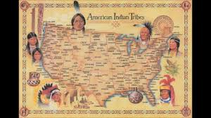 Native American Tribes Map Native American Indian Music The Native Spirit Lives 432hz Youtube