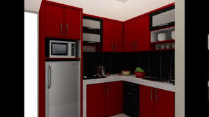 design kitchen set design kitchen set untuk dapur kecil youtube