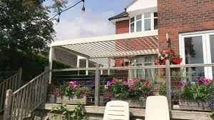 Louvered Roof Pergola by Louvered Roof Verandas Youtube