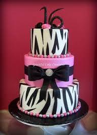 zebra print cake a buttercream iced cake with black fondant