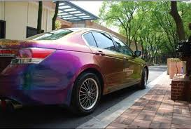 hi color chameleon spray paint for cars is coming