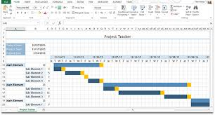 Excel Gantt Chart Template 8 Best Excel Design Images On Project Management
