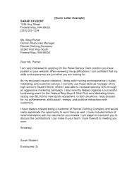 9 highschool cover letter invoice template download intended for