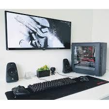 Desktop Computer Desk Best 25 Desktop Computer Desk Ideas On Pinterest Computer Setup