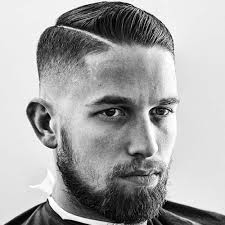 short natural tapered low hairstyles with a part hard part haircut men s haircuts hairstyles 2018