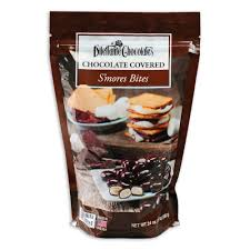 Chocolates by Chocolate Covered S U0027mores Bites 24 Oz Dilettante Chocolates
