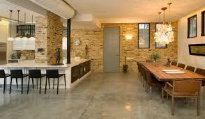amenagement cuisine rectangulaire incroyable amenagement cuisine ouverte avec salle a manger 2