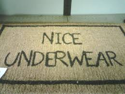 15 funny doormats that will make you look twice