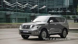 nissan patrol platinum nissan patrol 2014 the hero of all terrain in life youtube