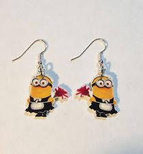 minion earrings minion ebay
