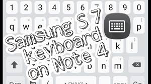samsung original keyboard apk update samsung keyboard on samsung galaxy note 4