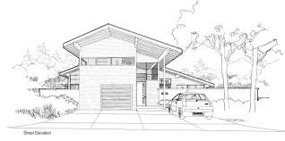 modern house architecture sketch modern house sketch stock photos