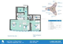 floor plans leaf tower al reem island abu dhabi