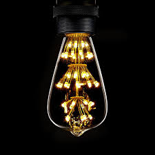 kiven 3w led decorative vintage edison bulbs antique style e26