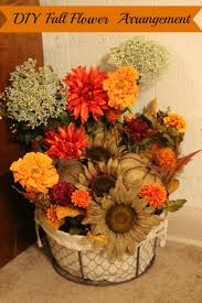 fall flower arrangements diy fall flower arrangement day 8