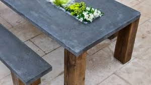 slate outdoor dining table concrete outdoor dining table bmorebiostat com