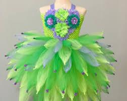 Green Tutu Halloween Costume Tinkerbell Costume Etsy