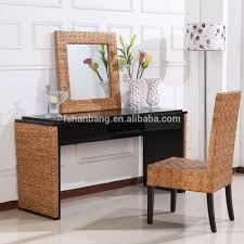 Bamboo Bedroom Furniture Spa Resort Leisure Elegant Natural Wood Bamboo Style Bedroom Set