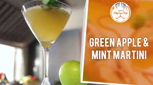 green apple martini how to make green apple u0026 mint martini by mixologist nikhil youtube
