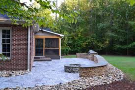 Granite Patio Pavers Archadeck Of Raleigh Durham And Earthstone Recycled Granite Pavers