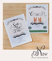 free save the date cards free printable save the date cards