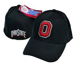 ohio state alumni hat black basic logo 1 fit hat