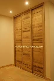 porte coulissante sur mesure porte coulissante placard bois massif avec portes coulissantes sur