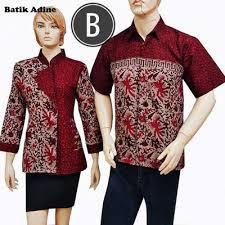 model baju model baju seragam batik karyawan dan kantor batik adine batik
