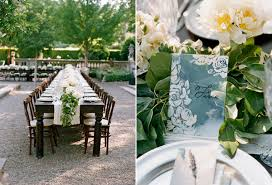 classic white wedding centerpieces once wed