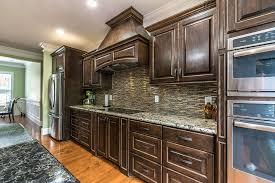 brown kitchen cabinets with backsplash kitchen tile image galleries for inspiration