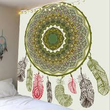 dream catcher pattern home decor hanging tapestry colorful w dream catcher pattern home decor hanging tapestry colorful w91 inch l71 inch