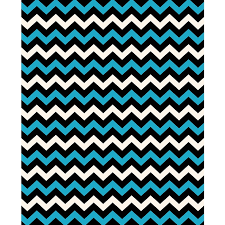 Black White Turquoise Teal Blue by Electric Blue Black U0026 White Chevron Printed Backdrop Backdrop
