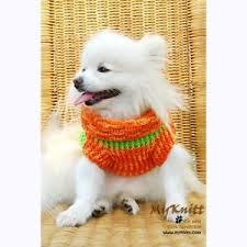 knit crochet pet pomeranian chihuahua sweater dress vest