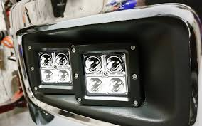 chevrolet silverado high power cree led bumper light work l